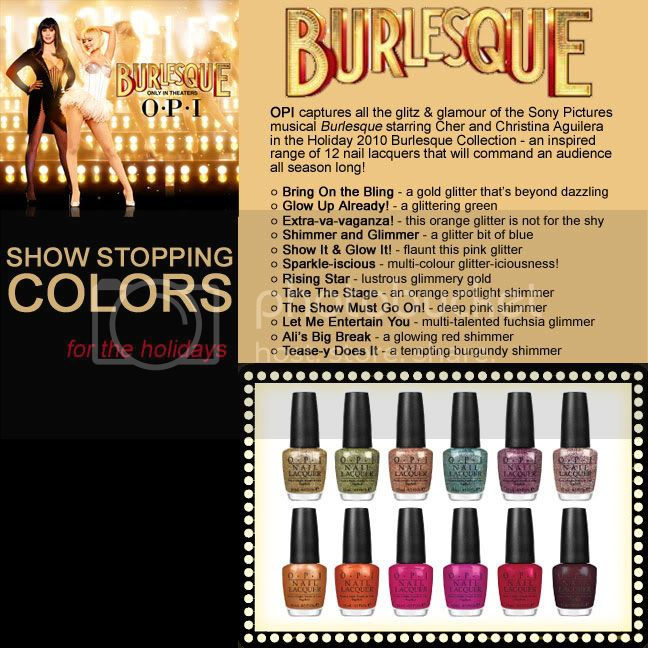 Burlesque by OPI